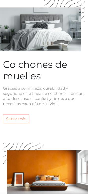 Web corporativa para colchones Suitex, por la agencia de creación web Eiduo